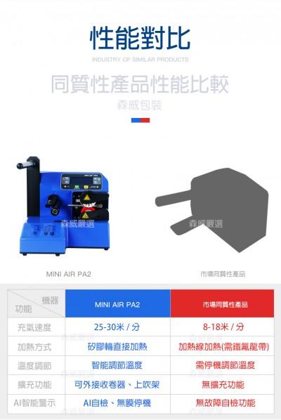 1-5 pa2 -新一代 工業型氣墊機 MINIAIR Pro 市場比較  價格 優惠 36500元 便宜推薦
